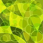 Fond abstrait mosaïque vert — Vecteur