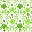 Seamless green floral pattern — Stock Vector #3159785