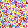 Seamless floral vivid pattern — Vector de stock #3167281