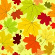 Royalty-Free Stock Vector Image: Floral seamless autumn pattern