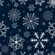 Christmas seamless pattern — Stockvectorbeeld