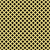 Black and golden seamless pattern — Stock Vector