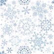 Seamless pastel christmas pattern — ストックベクタ