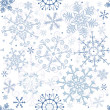 Seamless pastel christmas pattern - Stock Vector