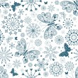 Seamless christmas pattern — Stockvektor