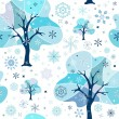 Seamless Christmas pattern — Stock Vector #3684205