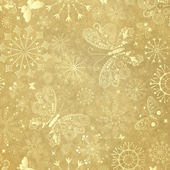 Old yellow christmas paper — Stock Photo