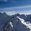 Panoramic view from Elbrus — Stock Photo #3020300