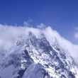 Stock Photo: Caucasus Mountains in cloud
