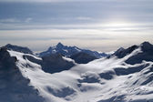 Mountains. View from Elbrus. — Stock Photo