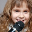 Childhood singing — Stock Photo #2838515