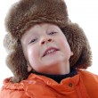 Stock Photo: Winter boy portrait