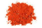 Kırmızı Pul Biber yığınları — Stok fotoğraf