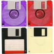 Stock Photo: Floppy disks