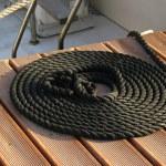 Boat rope — Stock Photo