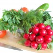 Fresh tasty vegetables - Stock Photo