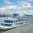 Stock Photo: Cruise steamship