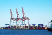Freight port — Stock Photo