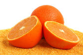 Fresh oranges — Stock Photo