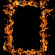 Burning frame — Stock Photo #3402894