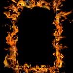 Burning frame — Stock Photo #3402894