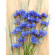 Cornflowers and cereals — Stock Photo #3403389