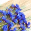 Stock Photo: Cornflowers and cereals