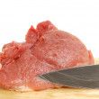 Raw pork meat — Stockfoto