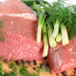 Raw beef meat — Foto de Stock