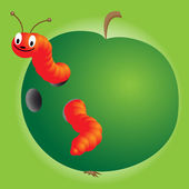 Caterpillar — Stock Vector