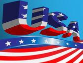 Symbols USA — Stock Vector