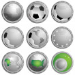 Royalty-Free Stock Vector Image: Icon about football