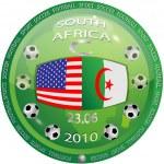 USA and Algeria — Stock Vector