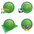 Icons-football — Stock Vector #3427913