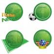 Icons-football — Stock Vector #3427913
