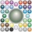 Royalty-Free Stock Vector Image: Set of round  buttons