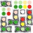 Traffic lights — Stock Vector #2804289
