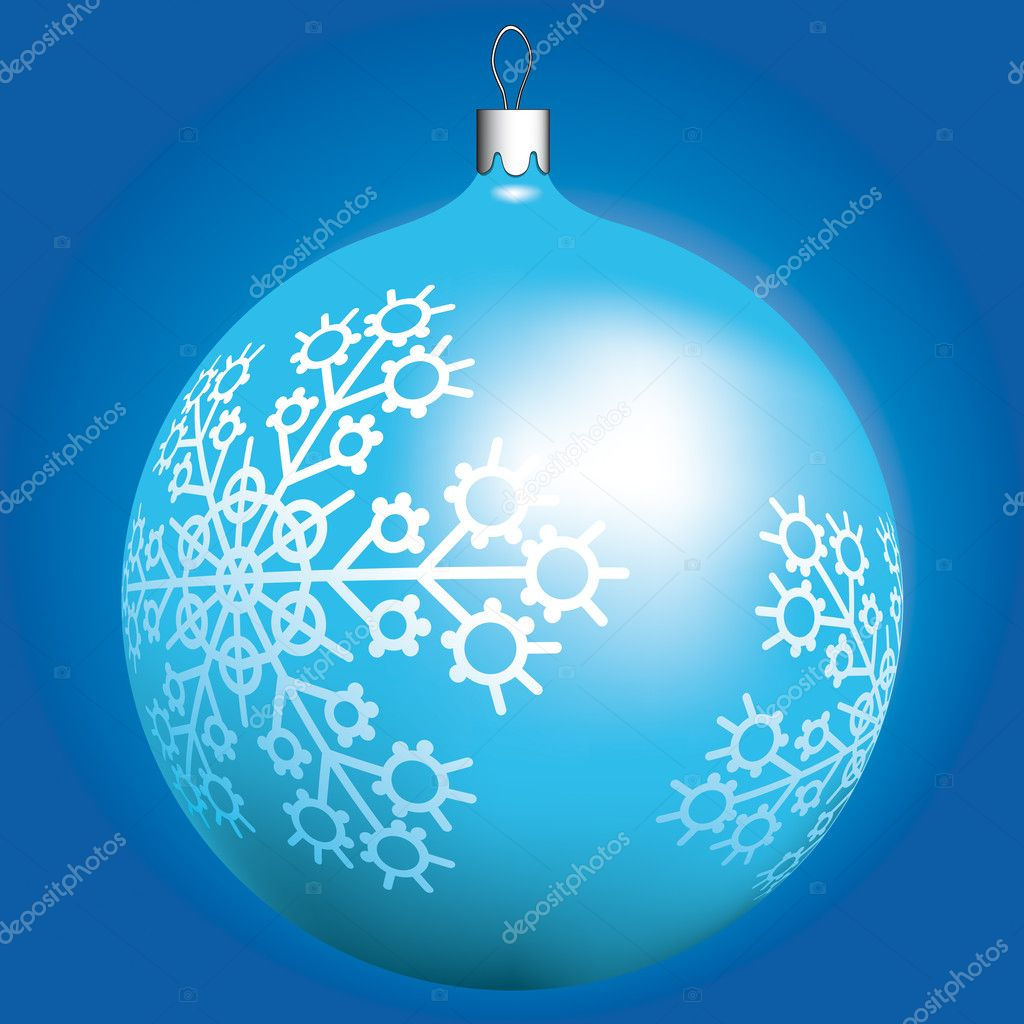 Christmas ball for winter design — Stock Vector #2811688