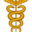 Royalty-Free Stock Vectorielle: Caduceus