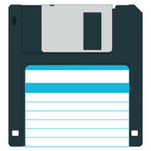 Diskette — Stock Vector