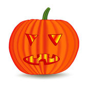 Halloween pumpkin — Stock vektor