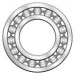 Ball bearing — Stock Vector #2931332