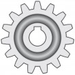Gear - Imagen vectorial