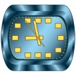 Clock — Vector de stock