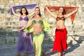 Belly dancers — Stock Photo