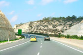 Road in Cyprus — Stock Photo