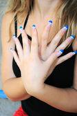 Woman hands — Stock Photo