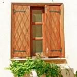 Old window — Stock Photo