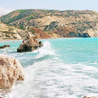 Stock Photo: Aphrodite's legendary birthplace in Cyprus