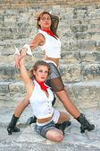 Nowoczesne tancerzy — Zdjęcie stockowe